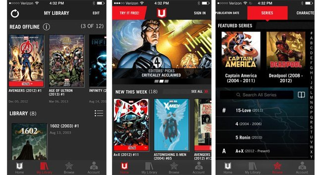 Marvel unlimited update for ios brings adaptive audio soundtracks to