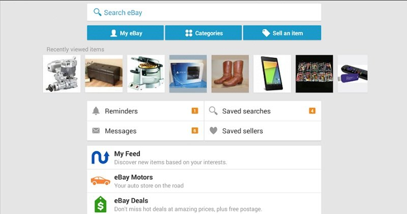 Ebay App Updated On Android And Ios