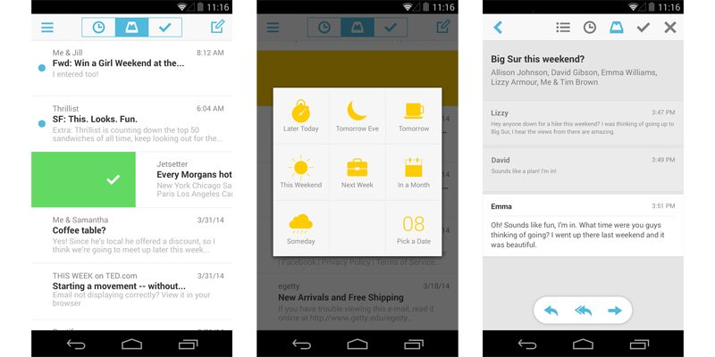 mailbox on android