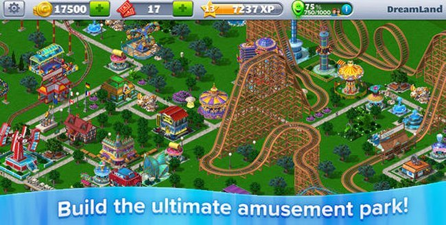 Roller Coaster Tycoon 4 Mobile adds queues, 15 new levels and much more in the latest update