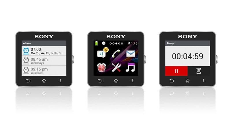 sony smartwatch app