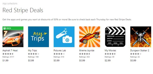 windows phone red stripe deals