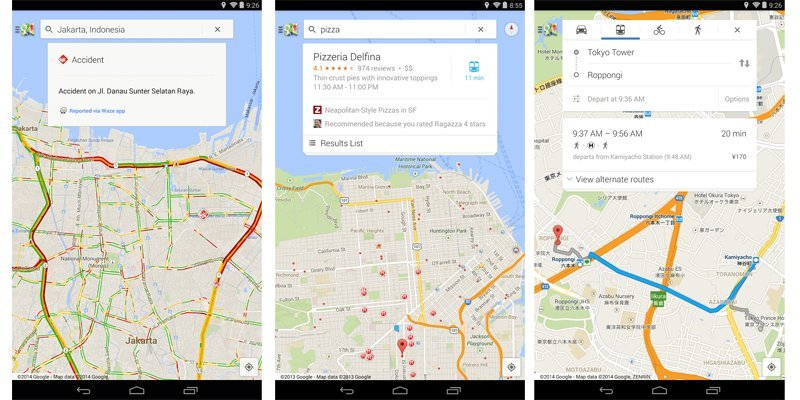 Google Maps updated on Android to version 8.2, adds multiple ... on google maps update, google maps screenshot, google maps path,