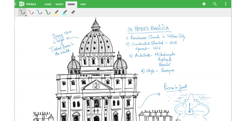 OneNote for Android gets handwriting support, tablet optimized UI and more