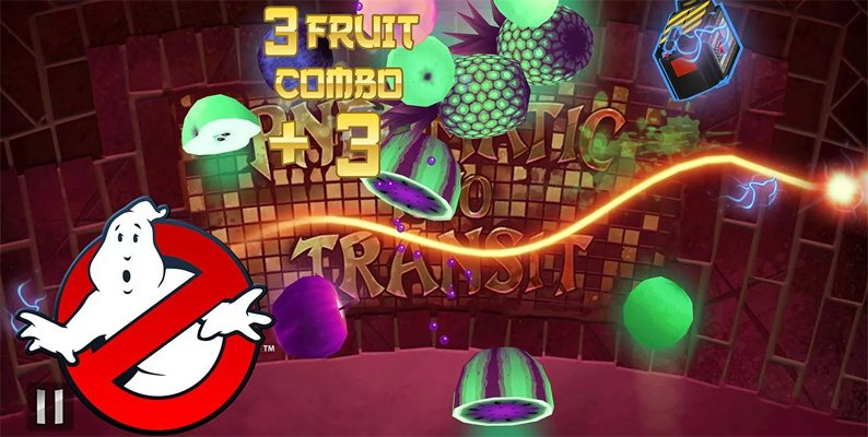 Fruit Ninja celebrates 30th anniversary of the first Ghostbusters movie in the latest update