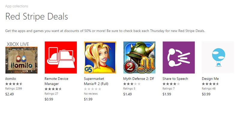 ilomilo, Remote Device Manager and more are Red Stripe Deals of this week on Windows Phone