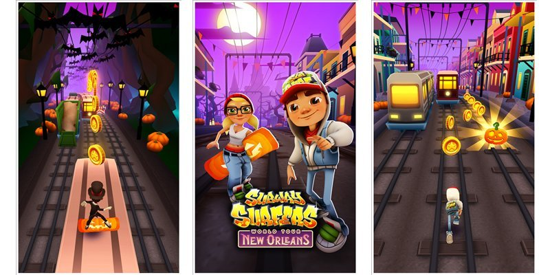 Subway Surfers adds a new Halloween based theme set in New Orleans