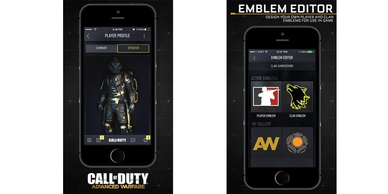 Call of Duty Advanced Warfare companion app launched on iOS, Android and Windows Phone