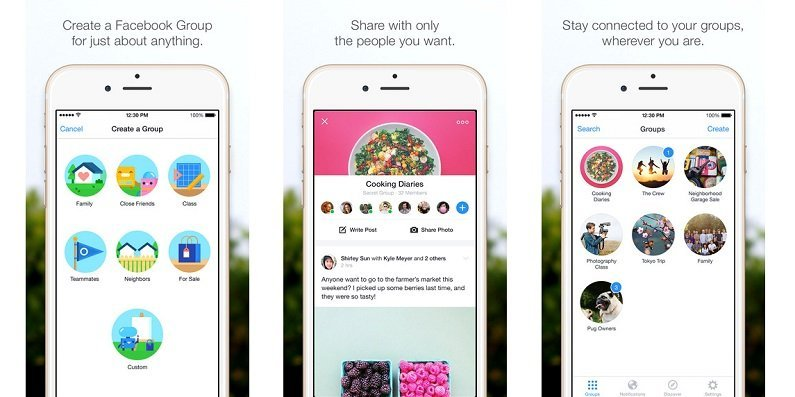 Facebook launches Groups, a standalone apps for Facebook groups in iOS and Android
