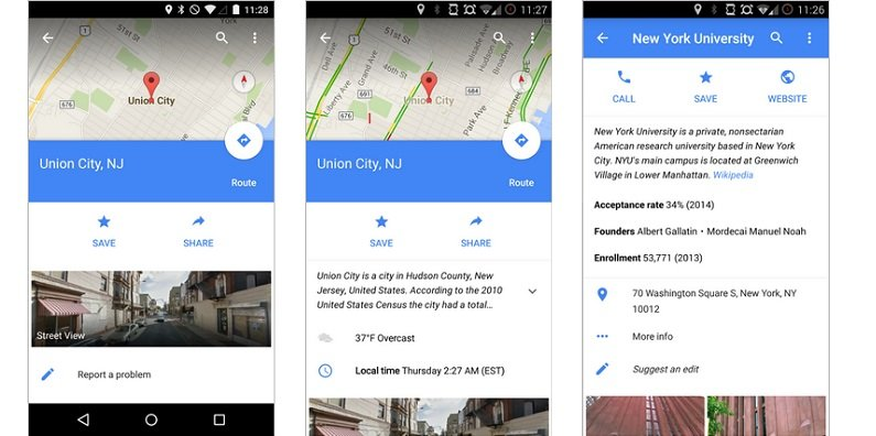 Google Maps updated with more info about destination and ... on google maps russia, iphone map route, google points of interest, apple map route, world map route, google car route, united states map route, google plan route,