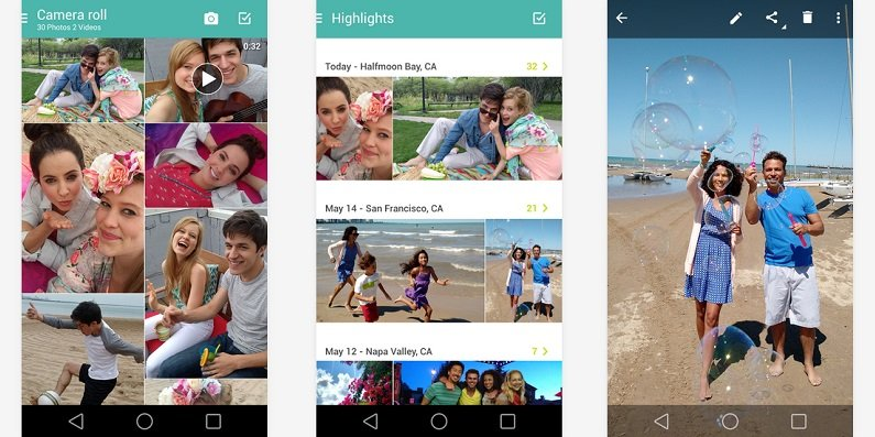 Motorola Camera and Gallery apps pushed to newer versions