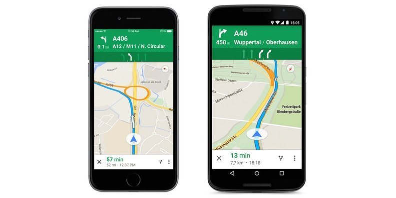 Google Maps brings lane guidance to Europe
