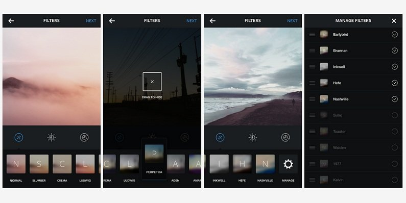 Instagram adds five new filters
