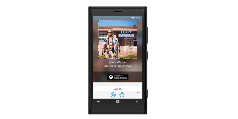 Shazam gets updated on Windows Phone