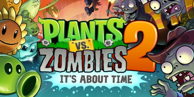 Plants vs. Zombies 2 loaded with new Frostbite Caves Part 1